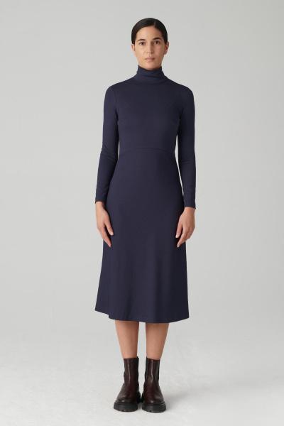 Carina Sukienka - Granatowy